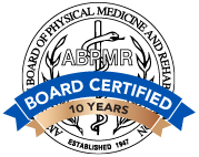 ABPMR Board Certified